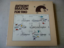 "ANTHONY BRAXTON""FOR TRIO-disco 33 giri ARISTA Usa 1978"" JAZZ"