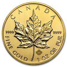 2013 1 oz Gold Canadian Maple Leaf Coin - Brilliant Uncirculated - SKU #71261