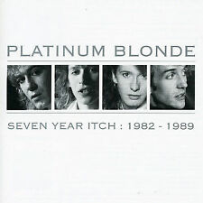Seven Year Itch: 1982-1989 [Remaster] by Platinum Blonde (CD, Sep-1999, Sony)