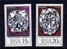 South Africa 1980 World Diamond Congress SG477/8 MNH