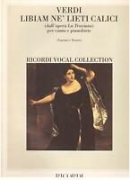 Verdi: La Traviata,Libiam Ne 'Glücklich Kelche Für Sopran Tenor und Klavier - Re