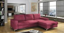 Sofa Sofa Bed Designer Sofa with Bed Function + Bed Box Corner Sofa Couch, New