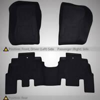 Car Floor Mats Carpet Liners Compatible Front Rear for Jeep 14-18 Wrangler JK