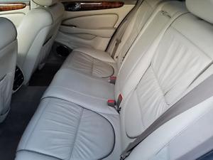2004 2005 06 07 08 2009 JAGUAR XJ8 XJR SUPER V8 VANDEN PLAS REAR SEAT BELTS TAN
