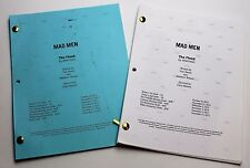 Mad Men * 2x DIFFERENT 2012 TV Script DRAFTS * Jon Hamm * Season 6, Episode 5