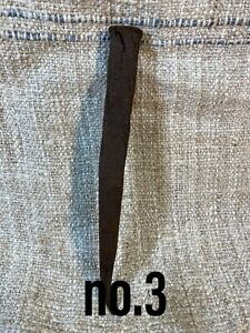 Antique Vintage iron rusty nail hand forget made in Slovakia no.3