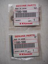 KAWASAKI KX125 95-97 GENUINE GOVERNOR & VALVE COVER GASKETS 11060-1690