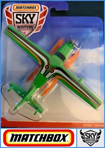 MATCHBOX  Sky Busters - Cessna Caravan 65 Plane Green / GDY53  - Genuine Sealed