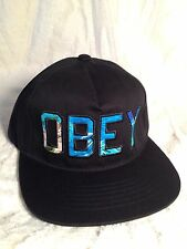 100% AUTHENTIC OBEY STRAP BACK HAT (PARADISE ISLAND)