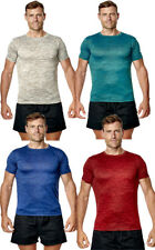 Mens Premium Quality T Shirt Running Exercise Sports Top Gym Active Cool Tee