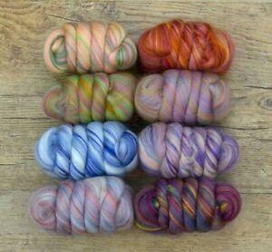 Bamboo & Merino Wool Blend Tops/Roving. Pick Shade. Wet/needle Felting, Spinning