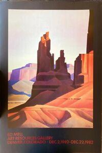 Vintage Ed Mell Art Resources Gallery Denver, Colorado- Dec 2, 1982-Dec 22, 1982