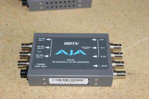 AJA HDTV HD10A HD Analog to HD-SDI Converter