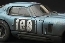 RACE WEATHERED | Exoto 1:18 | 1964 Cobra Daytona Coupe TDF | # RLG18018BFLP