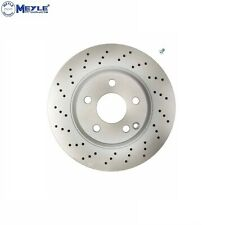 One New Meyle Disc Brake Rotor Front 34254B 2204210912 for Mercedes MB