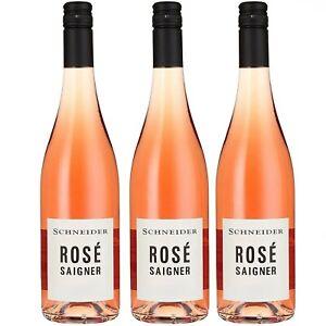 3 x Markus Schneider Rosé Saigner Roséwein deutscher Wein trocken Pfalz