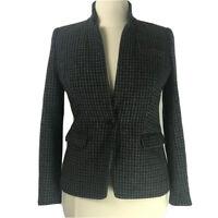 J. Crew Jacket NWOT Plaid 100% Wool Blazer Size 12 Large