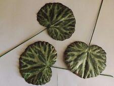 36 x Begonien Blätter künstliche Blätter