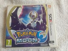 3ds Pokemon Moon Replacement Case(NO GAME)