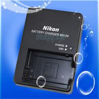 Genuine Original Nikon MH-24 Charger for EN-EL14 Battery P7000 D3100 D5100 P7100