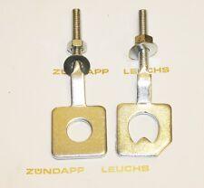 Zündapp Kettenspanner Set rund + gezackt KS 50 Super Sport Typ 517
