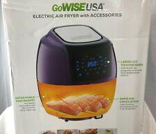 8-in-1 Air Fryer XL W/ 6-PC Accessories 5.8-Quarts Home Kitchen Appliances | New