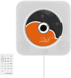CD Player, Upgrade Version Wall Mountable CD Player Bluetooth Hi-Fi CD