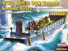 Hobbyboss 1:48 LCM 3 USN vehículo Landing Craft kit modelo de época Segunda Guerra Mundial