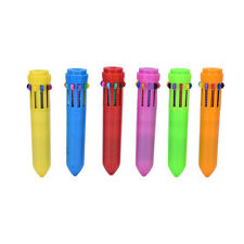 Hot Stationery Pen Multi Color 10 Color Study Ballpoint Pen SP