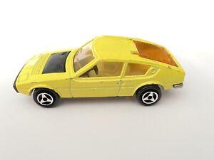 Majorette No.219 Yellow Matra Simca Bagheera - Made in France - 1/55 scale (48)