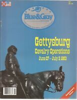 Blue & Gray Oct 88 V6N1 GettysbrgCavalry Custer Jeb Stuart Union Picket Hanover