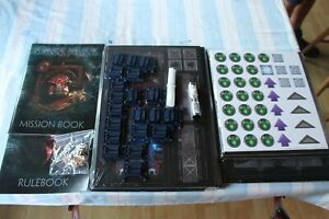 Games Workshop Space Hulk Board Game No Miniatures or Box 2014 3rd Edition GW