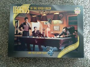 Legends Of The Silver Screen Legal Action 1000 Piece Jigsaw Puzzle Complete