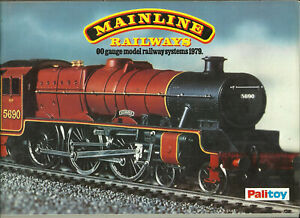 Katalog Palitoy Mainline Railrways 1979 Modelleisenbahnen in OO System