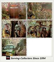 Australia Dynamic Jurassic Park Trading Cards Pop-Up Card Full Set (5)-RARE