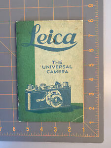 1930 Leica Catalog Price List Rare w Vintage Nikon Camera Receipt Rollei