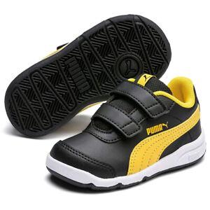 Puma Stepfleex 2 Sl Avez V Bébé Noir Chaussures Baskets Unisexe 192523 08