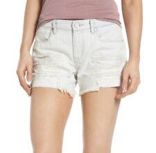 Blank NYC Shorts NWT Tomboy Denim Jean Sunbaked Distressed Shredded Size 29