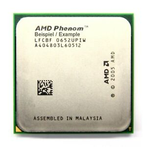 AMD Phenom X4 9650 2.3GHz/2MB Socket/Socket AM2 +HD9650WCJ4BGH Processor Pc-Cpu
