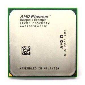 AMD Phenom X4 9650 2.3GHz/2MB Socket/Socket AM2 +HD9650WCJ4BGH Processor Pc-Cpu