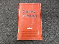 1986 Chevy C K 10 15 20 25 30 35 Pickup Truck Owners User Guide Manual Diesel