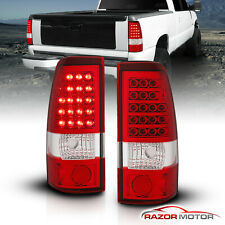 1999-2002 Chevy Silverado/1999-2006 GMC Sierra 1500/2500/3500 LED Tail Lights