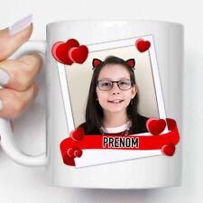 """Mug, Tasse céramique """"Cadre Photo Personnalisable Photo + Prénom"""" (MUG032)"""
