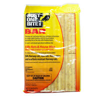 Rat Mouse Rodent Killer Bait Bars ( 8 Lbs ) Just One Bite II Bars Rodent Poison