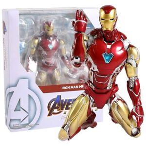 SHF Marvel Avengers Endgame Iron Man MK85 Mech Action Figure Collectible Model
