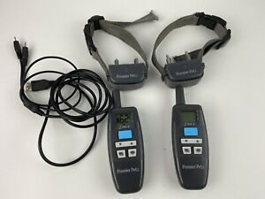Premier Pet 300 Yard Trainer Collar Rechargeable GDT00-16298 Lot of 2