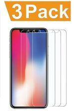 9H Tempered Glass Screen Protector For iPhone X Apple Full Protective Cover 3 PC