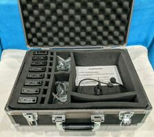 Takstar UHF 938 Transmitter & Receivers Set with Storage Case - Tested & Working
