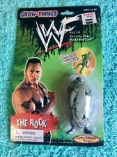 """NEW WWE/WWF 1999 SPIN MASTER TOYS """"The ROCK"""" GROW-THINGS - STILL SEALED [MOC]"""
