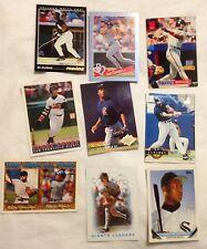 9 Baseball Cards-Bonds-Canseco-Jackson-Minton-Alomar-Thompson & More